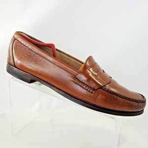 Cole Haan Size 13 Brown Penny Loafers Mens Shoes